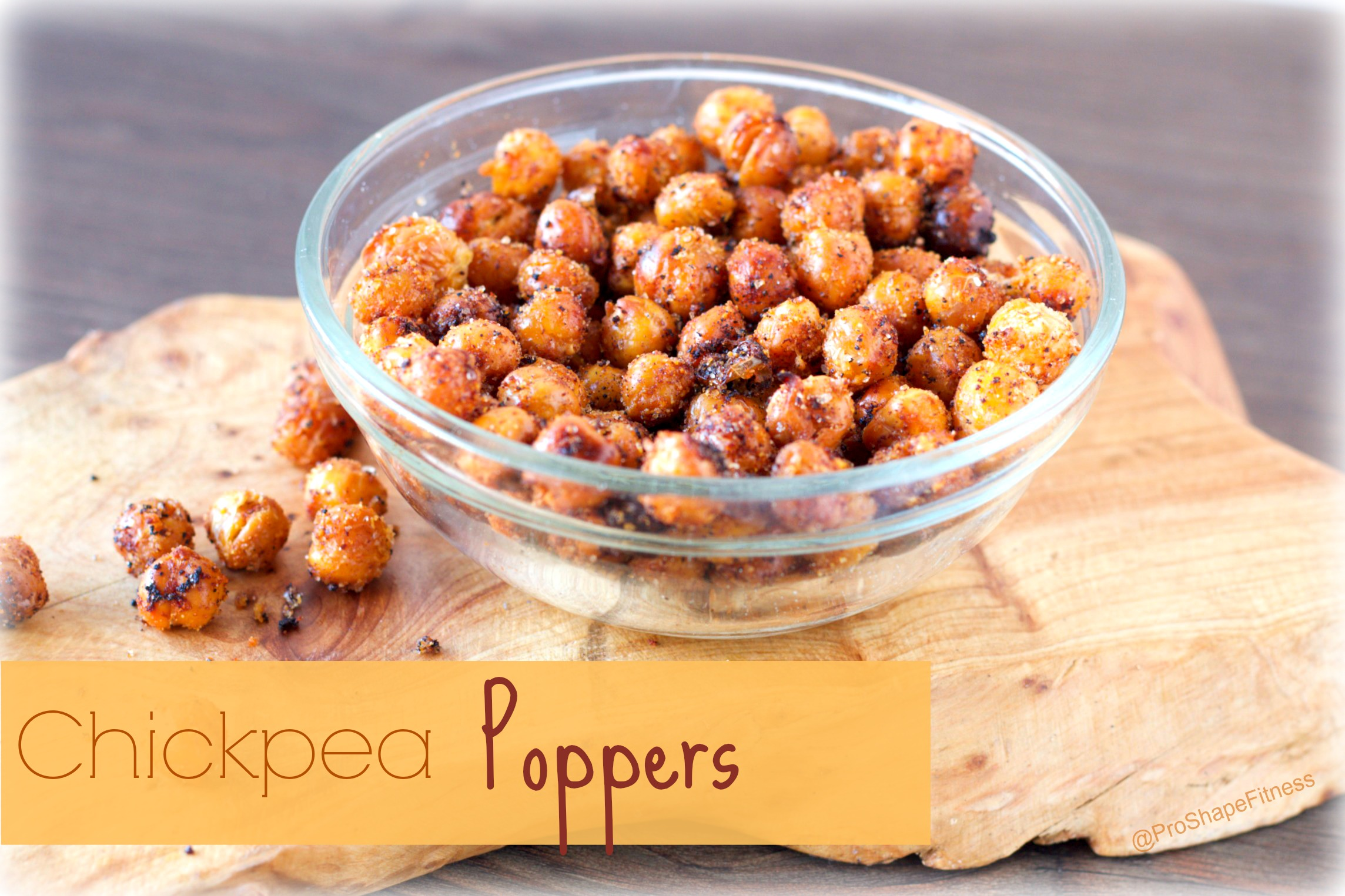 Healthy Chickpea Poppers - ProShapeFitness