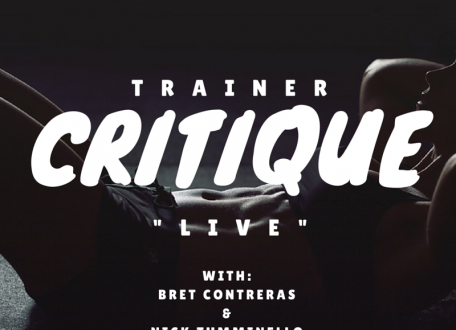 Trainer critique live