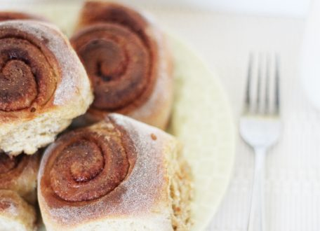 Healthy Cinnamon Rolls