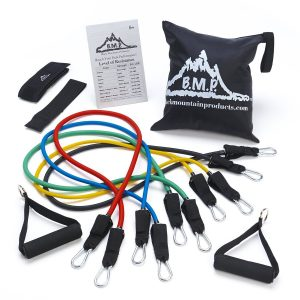 set of exercise bands - click here to buy