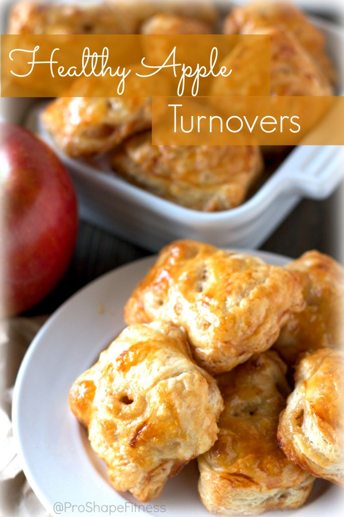 Decadent Apple Turnovers. It's hard to believe these are healthy! Click here for the recipe: https://proshapefitness.com/?p=824