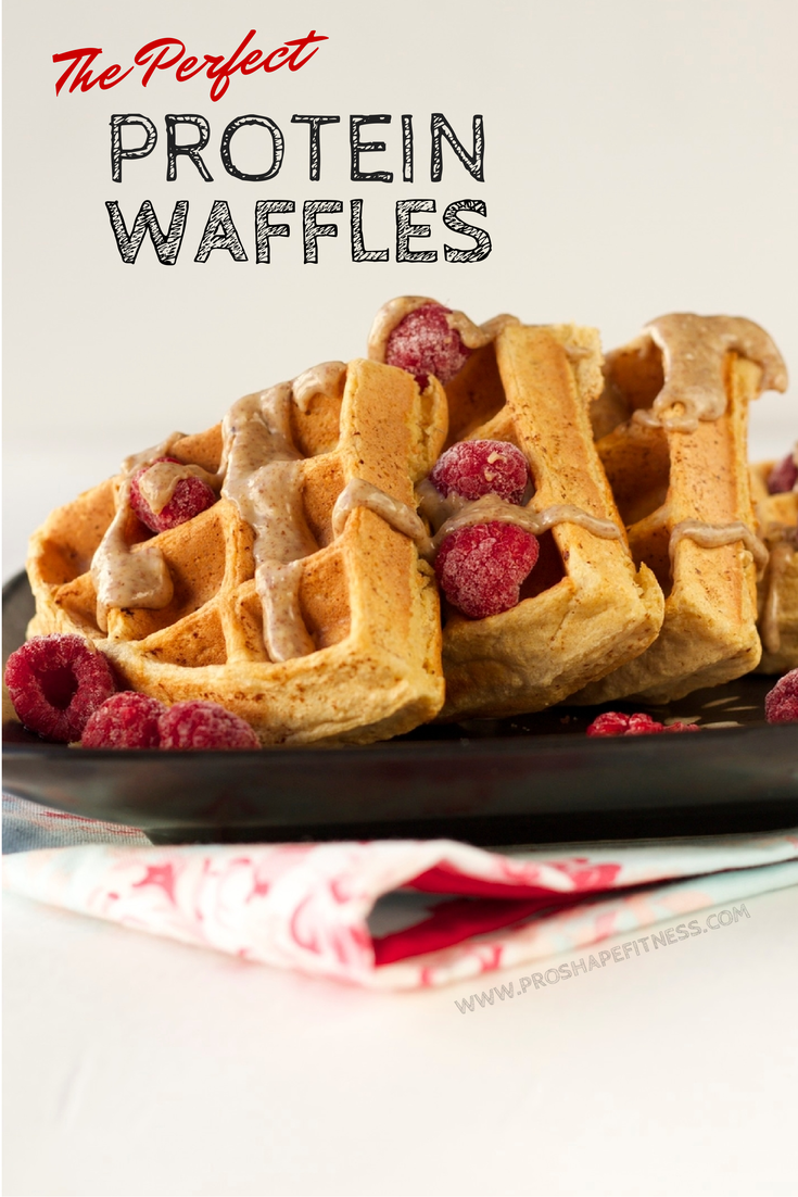 The Perfect Protein Waffles