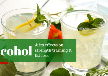 how does alcohol affect strength training