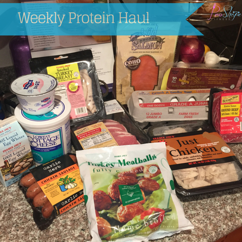 Weekly Protein Haul