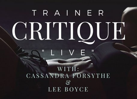 TRAINER CRITIQUE LIVE 3